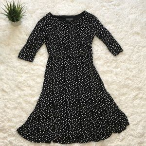 Jessica Howard long sleeve polka dot dress